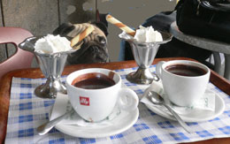 hot chocolate rome